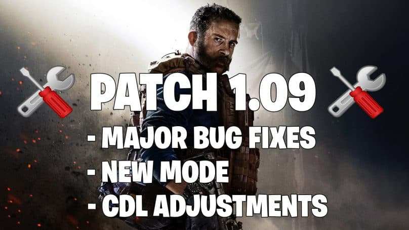1.09 Modern Warfare Update LIVE