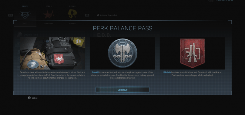 All New Perk Balance Changes in Modern Warfare Season 2
