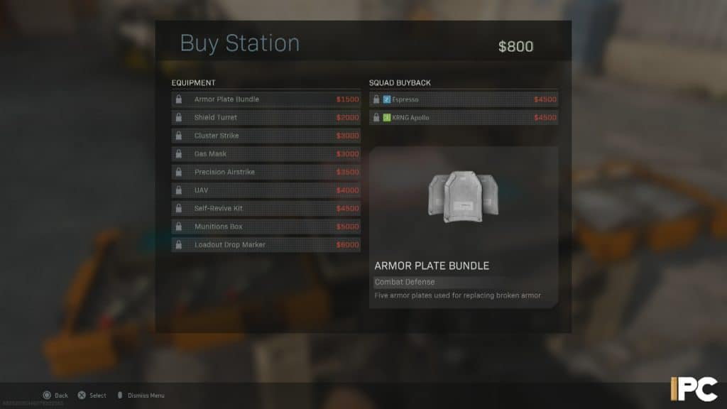 Warzone buy stations