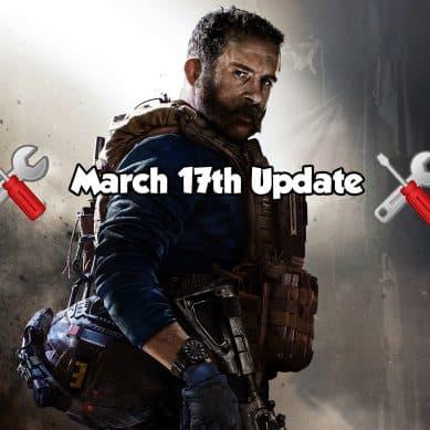 Modern Warfare March 17th Weekly Update