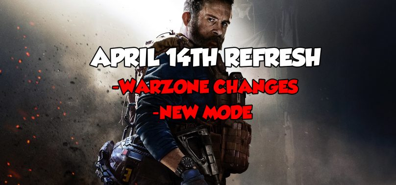 Modern Warfare Patch Notes – April 14th 2020
