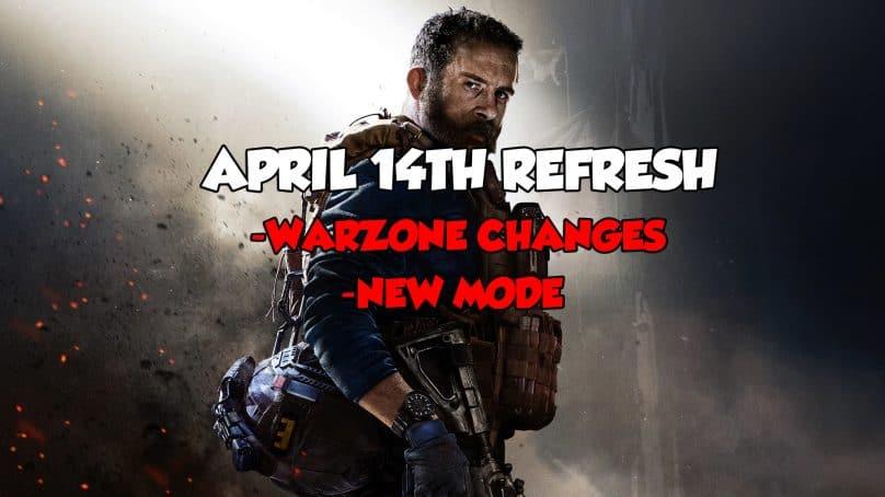 Modern Warfare Patch Notes – April 14th 2020