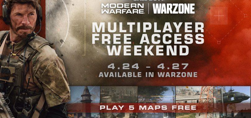 Modern Warfare Free Access Weekend