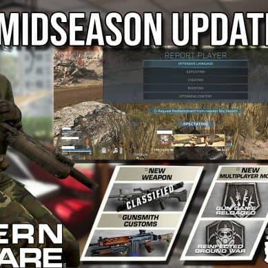 Patch 1.20 Released For Modern Warfare