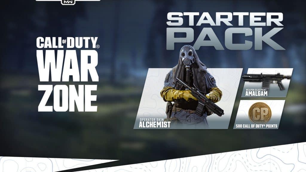 Modern Warfare Warzone Starter Pack