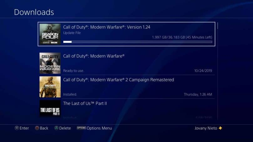 Modern Warfare Season 5 Update 1.24 Available For Pre-Load