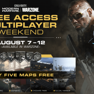 Call of Duty Free Multiplayer Weekend & Double XP Weekend